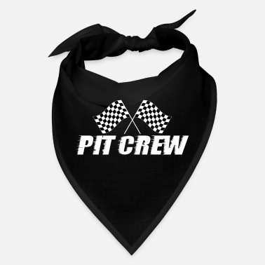 Pit Crew Racing Team Sports Racers Track Pit Stops - Bandana