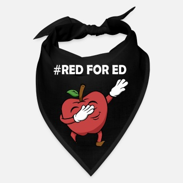 Red For Ed red for ed redfored - Bandana