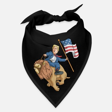 Trump 4th Of July Donald Trump Lion - Bandana
