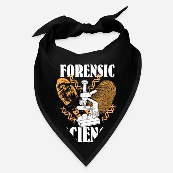 Forensic Science Shirt Detective Crime Scene Gifts Bandana Spreadshirt