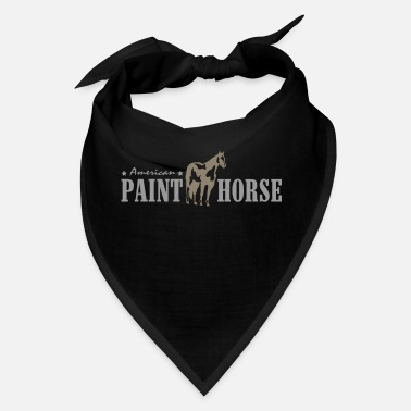 Horse Breed American Paint Horse Western Horse Breed - Bandana