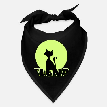 Name Day Elena Name day first name personal gift moonlight - Bandana
