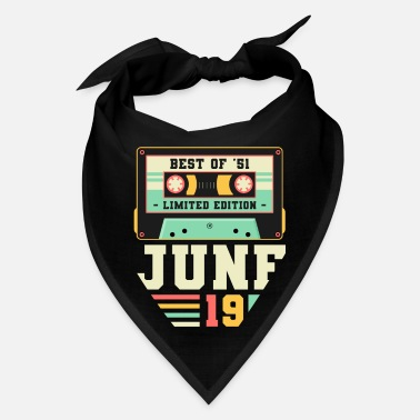 70th 70th Birthday June Gift Vintage 1951 70 Years - Bandana