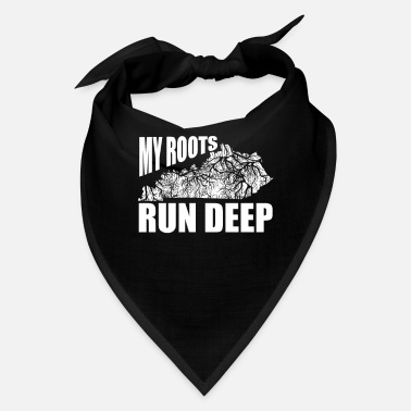 United My Roots Run Deep Kentucky gift roots - Bandana
