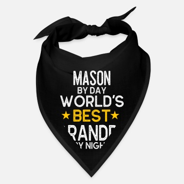 Amazing Mason By Day World's Best Grandpa By Night - Bandana