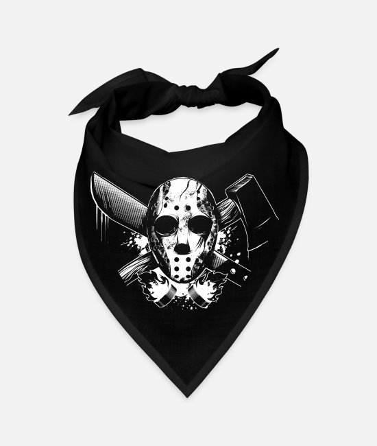 Friday 13th Bandanas - Ice Hockey - Bandana black