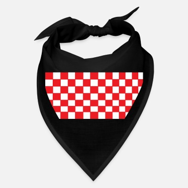 Chess Red chess board - Bandana