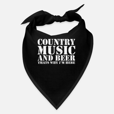 Square Country Music Line Dance Western Dance - Bandana