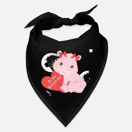 Valentin Caps - Be my Valentine - Bandana black