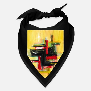 abstract painting t-shirt | abstract painting - Bandana