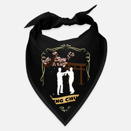 Martial Arts Caps - Wing Chun - Bandana black