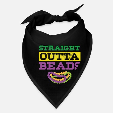 Parade Schedule Straight Outta Beads Mardi Gras Street Party Gift - Bandana