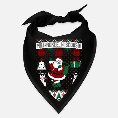 Milwaukee Wisconsin Christmas Ugly Sweater Milwaukee Wisconsin - Bandana