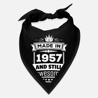 Made In 1957 Made In 1957 And Still Awesome - Bandana