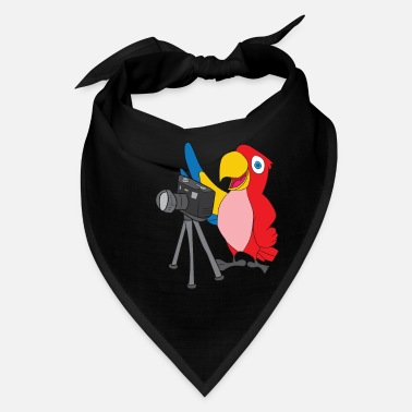 Bird Picture Bird Photographer Parrot Taking Picture Gift - Bandana