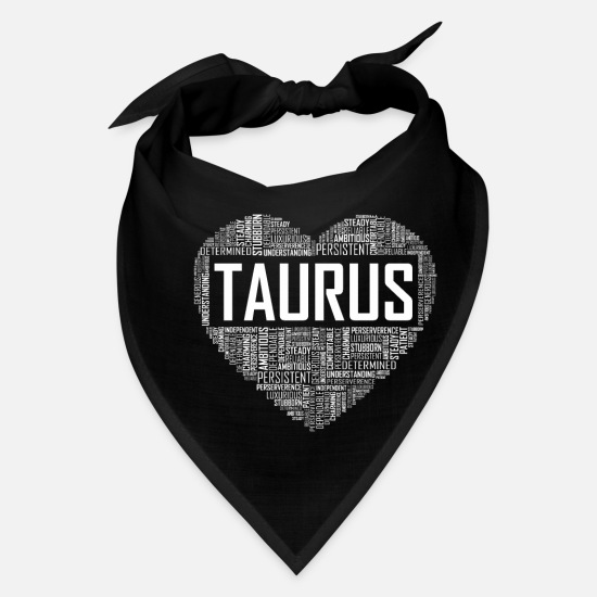 Love Caps - Taurus Heart - Bandana black