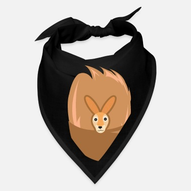 Halloween Kangaroo Costume - Kangaroo with Pocket - Bandana