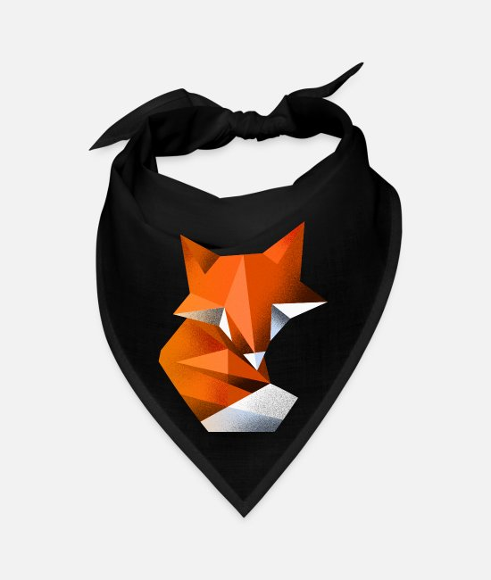 Geometry Bandanas - Fox - Bandana black