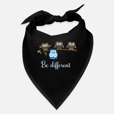 Owl Be Different Owls Owls - Bandana