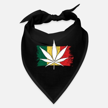 420 Hemp Leaf Cannabis Lover Stoners Birthday Flag - Bandana