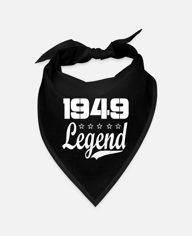 Born In Bandanas - 49 Legend - Bandana black