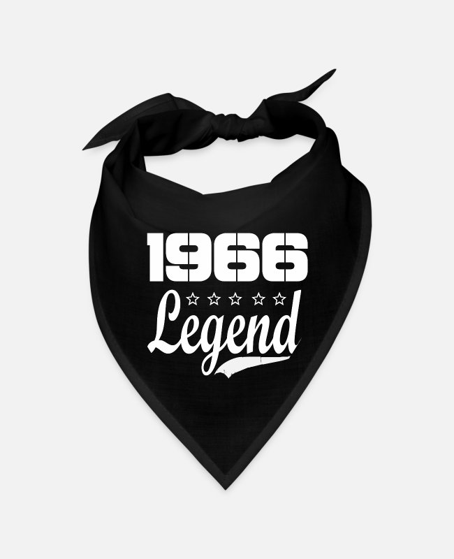 Born In Bandanas - 66 legend - Bandana black