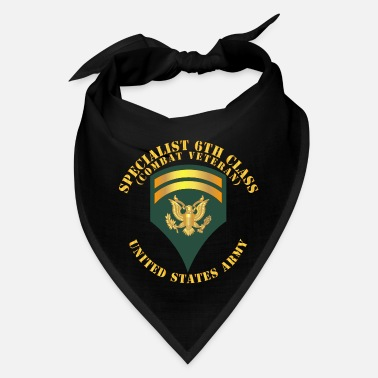 Veterans Army Specialist 6th Class SP6 Combat Veteran V1 - Bandana