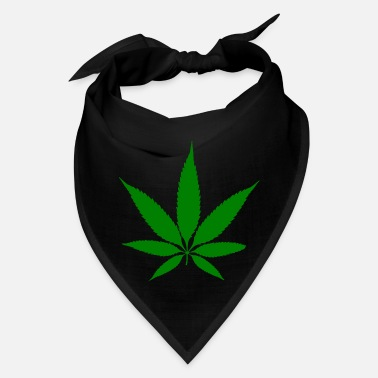 Hemp Hemp Leaf Green - Bandana