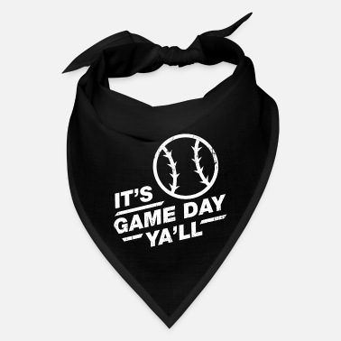 Tournament It'S Game Day Ya'Ll - Baseball Game Day - Bandana