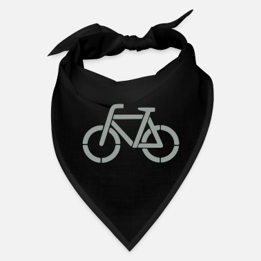 Stencil bicycle stencil - Bandana