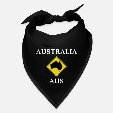 Road Sign Kangaroos Australia - kangaroo - AUS - Sydney - Road Sign - Bandana
