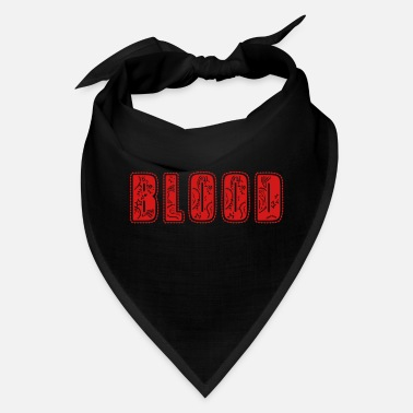 Gang Blood Logo - Bandana