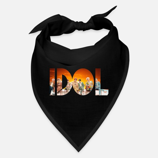 Bts Caps - BTS IDOL - Bandana black