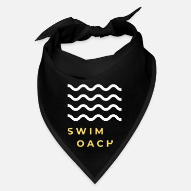 Coach Swim Swimming Swim instructor swim coach water sports - Bandana