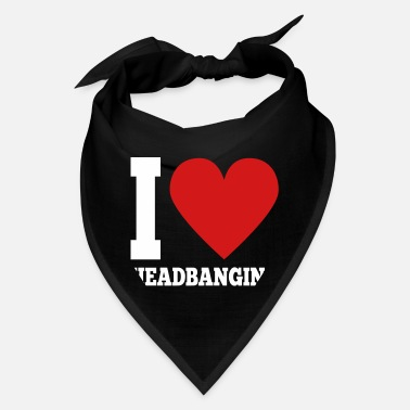 Headbang I love HEADBANGING - Bandana