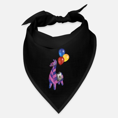 Gamer Cool Lama Gaming Design Gamer Llama Gift - Bandana