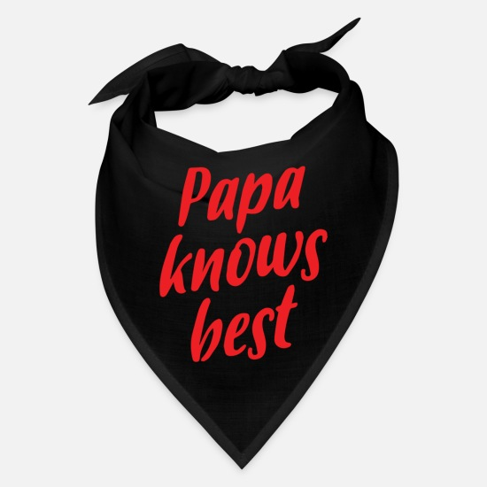 Movie Caps - Papa Knows Best - Bandana black