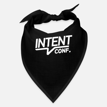 Intention Intent - Bandana