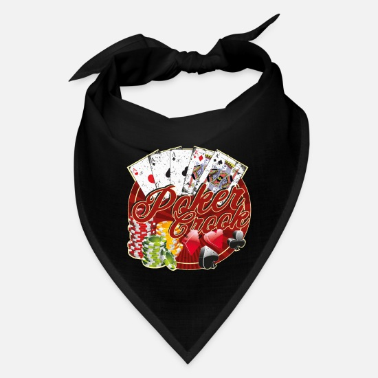 Hold'em Caps - Poker Crook - Bandana black