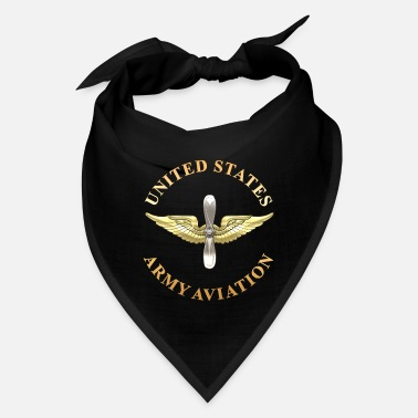 Us Aviation Branch Plaque - Bandana