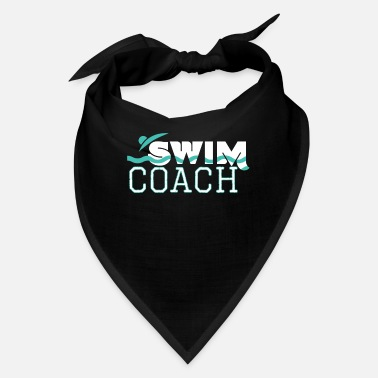 Coach Swim Swim Coach Swimming Pool Instructor Teacher Gift - Bandana