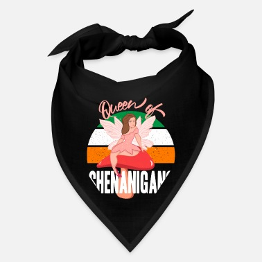 Queen of Shenanigans Fairy Elf St Patrick's Day - Bandana
