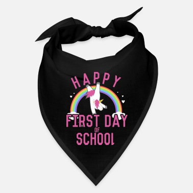 First Day Of School Happy First Day of School - Bandana