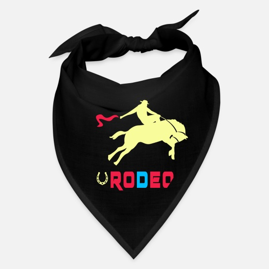 Gift Idea Caps - Rodeo Design / Gift - Bandana black