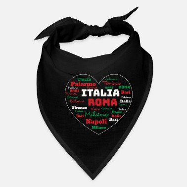 Cuore ITALY HEART ITALIA CUORE CLOUD HOLIDAY (ORIGINAL) - Bandana
