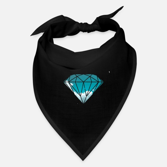 Skies Caps - blue sky diamond - Bandana black