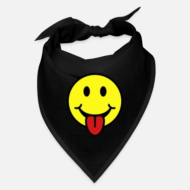 Tongue Smiley - Tongue Sticking Out - Bandana