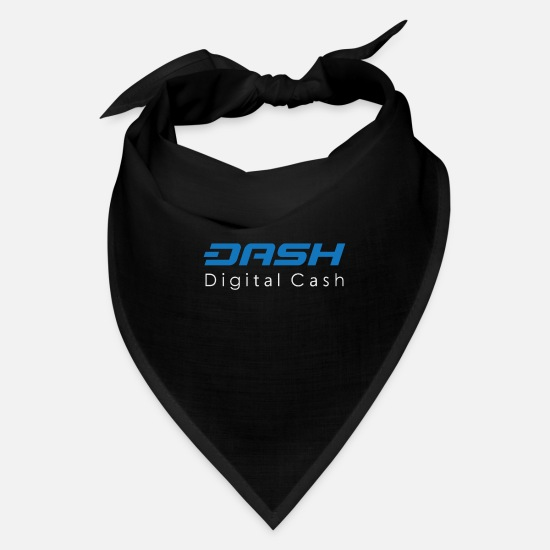 Dash Caps - Dash Digital Cash - Bandana black