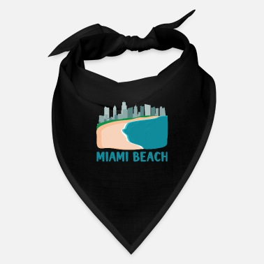 Downtown Miami Beach Design for Florida Fans - Bandana