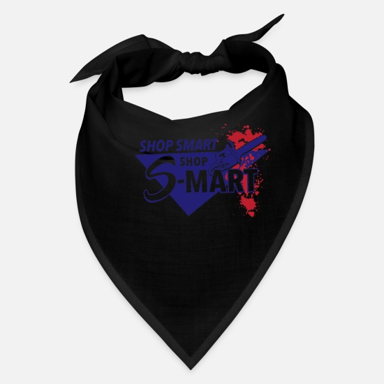 Shopping Frenzy Caps - Shop Smart Shop S Mart - Bandana black